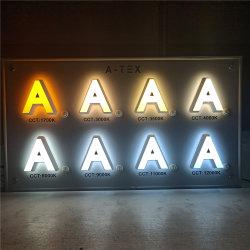 Огнестойкий плакатный и 3D с электроприводом с подсветкой LED акриловый письмо подписать системной платы