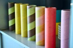 織物の硫酸紙の化学ファイバーのペーパー管