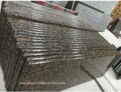 Matériaux de construction de la Baltique les comptoirs de granit brun pour la cuisine
