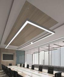 Горячая продажа современных подвесной светодиодный линейный легкий алюминиевый зажимное приспособление для установки внутри помещений лампа для управления оформлением освещения в помещении супермаркет управление освещением линейного перемещения