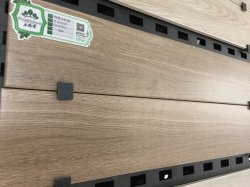 150X800mmの居間の自然な木製の穀物の木製の一見のタイル