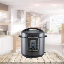 1000W Pot Instantâneas Panela de Pressão Elétrica 6 qt fogão múltiplos 14 em 1, potenciômetro de aço inoxidável programáveis