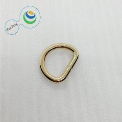 La superficie brillante anillo D de alta calidad de enlace de la bolsa de anillo para la confección de prendas de vestir y accesorios