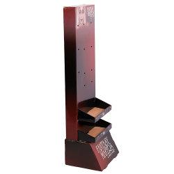 Boîte cadeau carton noir Bijoux de papier ondulé Prix Onwall titulaire compteur maquillage Noël Nourriture Stand d'affichage en carton de pliage