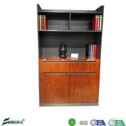 2 portas Office File Cabinet Sala caso de livros clássicos de madeira