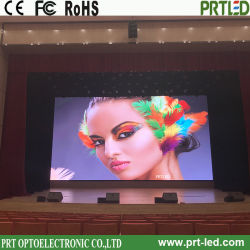 Vidéo couleur intérieure HD plein écran, un voyant de la publicité de signer avec le conseil de 512 x 512 mm (P 2, P 4)