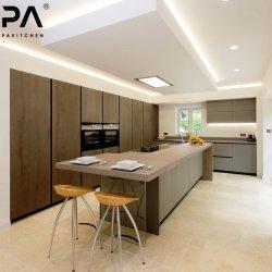 台所ファクトリー・アウトレットは価格の新しいモデル贅沢なイタリアデザインインポートのRtaモジュラーPVC木製の食器棚を中断した