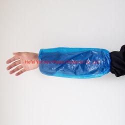 Одноразовые пластиковые прозрачные PE втулки крышки LDPE/HDPE Oversleeve