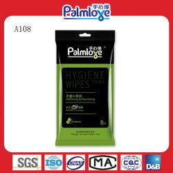 Palmlove Soem-Marken-Minigaststätte antibakterielle Pocket machten Wischer naß