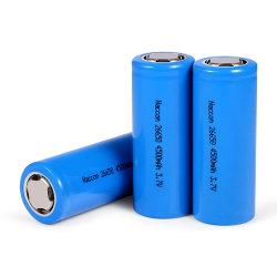 3.7V 4200mAhOEM Bluetooth de Batterij van het Fosfaat van het Ijzer van het Lithium LiFePO4 van de Hoofdtelefoon DVD 26650