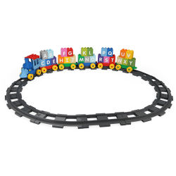 71pcs Kids mieux jouer en plastique Unique Duplo Train Jouet de briques de construction