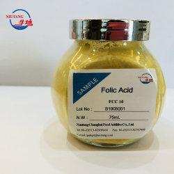 Vitamine van uitstekende kwaliteit van de Grondstof van de Rang van het Voedsel Folic Zure B9