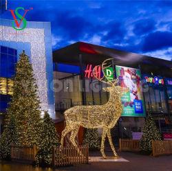 Grand Rennes LED 3D des décorations de Noël lumières Outdoor