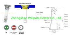 Anel Eléctrico Automotive carga da bateria de indicadores de status, para secar cobrado bateria de carro