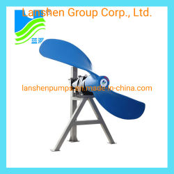 Submersible centrifuggal Slow Speed Propeller Mixer (QJB), 1,5kw-7,5kW