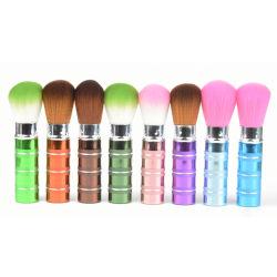Prix bon marché d'Outils de maquillage EN ALUMINIUM BROSSE escamotable en provenance de Chine usine