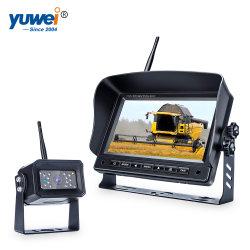 """7 """" Digital-drahtlose Monitorrearview-Kamera, die Hilfsmittel-Sicherheitssystem mit 2 verdrahteten Input aufhebt"""