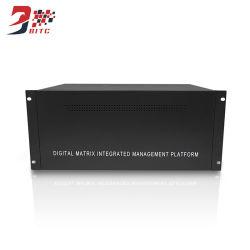 Matriz de decodificación de HDMI Varios Inout Intergated Digital y salida de la pantalla de gestión de vídeo Plataforma para la Cámara de Monitor de red