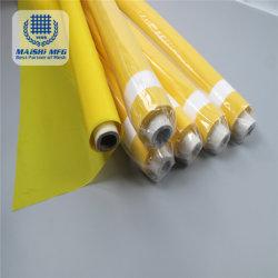 메시를 인쇄하는 노란 색깔 폴리에스테 스크린