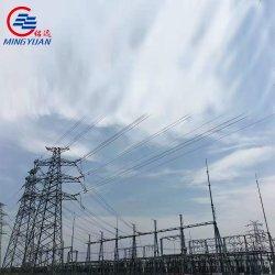 Transformador de potencia de la subestación de energía eléctrica bastidor estructural de la torre de transmisión