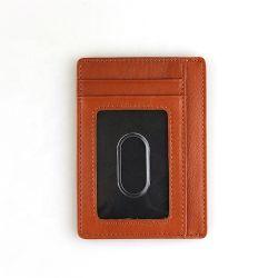 Kind vielseitiges dünnes RFID lederne Mappe für Männer blockend