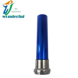 Prótesis de rodilla tubo de aluminio 200mm con color zafiro