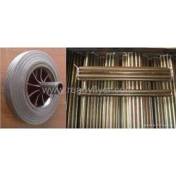 Wheelie Bin rueda y el eje de la basura bin Chontainer móvil