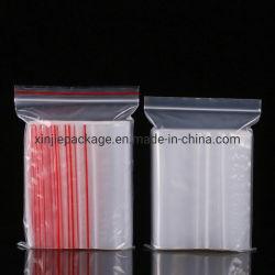 De Zakken van de Ritssluiting van Polythen van Gelamineerde LDPE die van Materialen met de Hoogste Gravure die van de Ritssluiting worden gemaakt Beschikbare Vochtbestendige Rekupereerbaar afdrukken