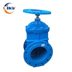 24 pulgadas de mejor venta DN800 Ci/Di actuador eléctrico frenar el aumento de la válvula de compuerta motorizada