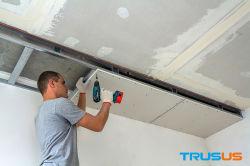Установка исправлений штукатурка стен гипсокартон гипс потолок
