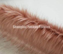 Tessuto lungo della peluche del Rainbow del tessuto della pelliccia del Faux del mucchio del Rainbow