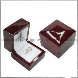 Cadre de bijou en bois de bracelet de chêne réglé pendant en gros fait sur commande de collier
