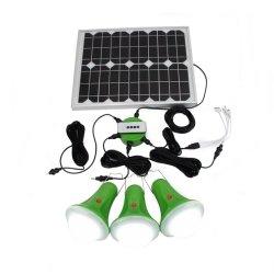 2020 글로벌 해돋이 힘 전시를 가진 3개의 전구를 가진 휴대용 태양계 램프