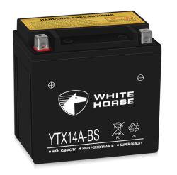 batteria sigillata ricaricabile del motociclo di prezzi 14ah di qualità inferiore del Giappone
