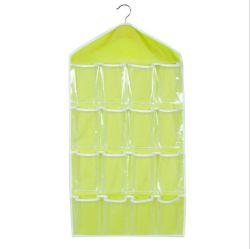 Commerce de gros Hot Sale ménage à la poussière la pendaison stockages de placard de l'organiseur sac sac à main de stockage non tissé pliable