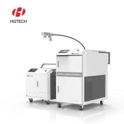 rimozione del rivestimento dell'ossido di metallo della macchina di pulizia del laser di rimozione della ruggine del laser di 100W 200W 350W 500W 1000watt
