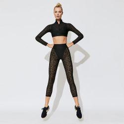 2019 het Sexy Lopende Kostuum van het Zweet van het Kant voor Vrouwen