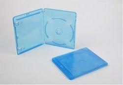 Le couvercle du boîtier du DVD DVD DVD Box 11mm simple Rectange bleu
