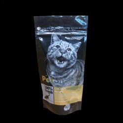 プラスチックジッパー袋のパッキングペットフードを密封する8つの側面