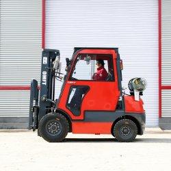 2.5 طن متري من البنزين والجازولين بوزن 2500 كجم المزوَّد بوسادة متوازنة سيارات تويوتا 7 الطراز CE ISO 1.5-3.5 طن