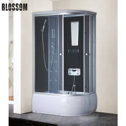 Glascomputer-Steuerfuss-Massage-Dampf-Sauna-Dusche-Schrank-Raum