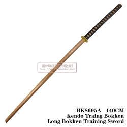 Arte marcial chinesa de espadas de madeira 140cm HK8695A/HK8695b