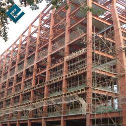 Китай поставщик современных Сборные стальные Multistory структуры отель