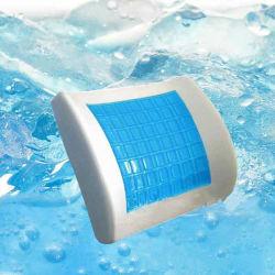新しい冷却ジェルバックサポート腰椎クッション