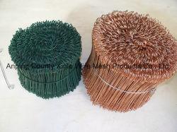Doble asa de alambre de amarre de cobre galvanizado