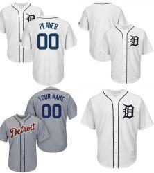 Personalizar Hombres Mujeres niños Detroit Tigers de la base de Cool camisetas de béisbol