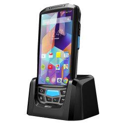 Lettore Android della radio RFID PDA del telefono del lettore terminale tenuto in mano del codice a barre