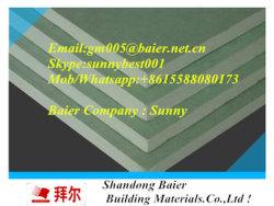 Directa de Fábrica de yeso paneles de yeso resistente al agua falso techo