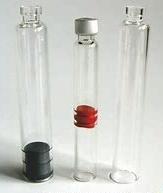 3ml Bolígrafo Cartucho de frasco de vidrio