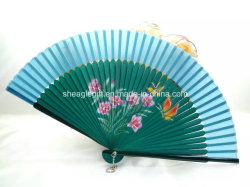 Vintage Китайских и Японских болельщиков на стене висел интерьер бамбук тканью электровентилятора системы охлаждения двигателя